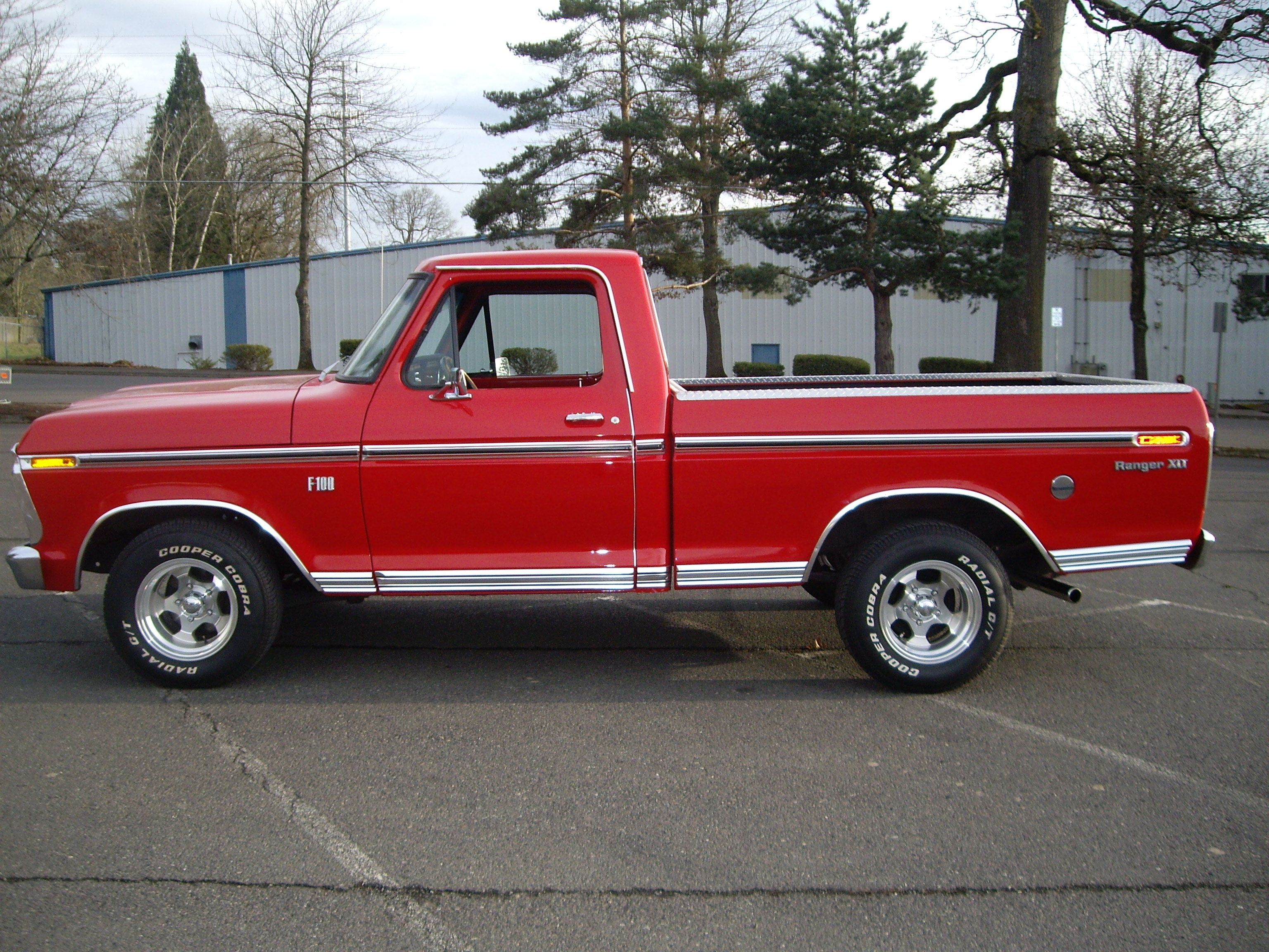 tires 1968 F100 - Google Search | Old TRucks | Pinterest | Top cab ...