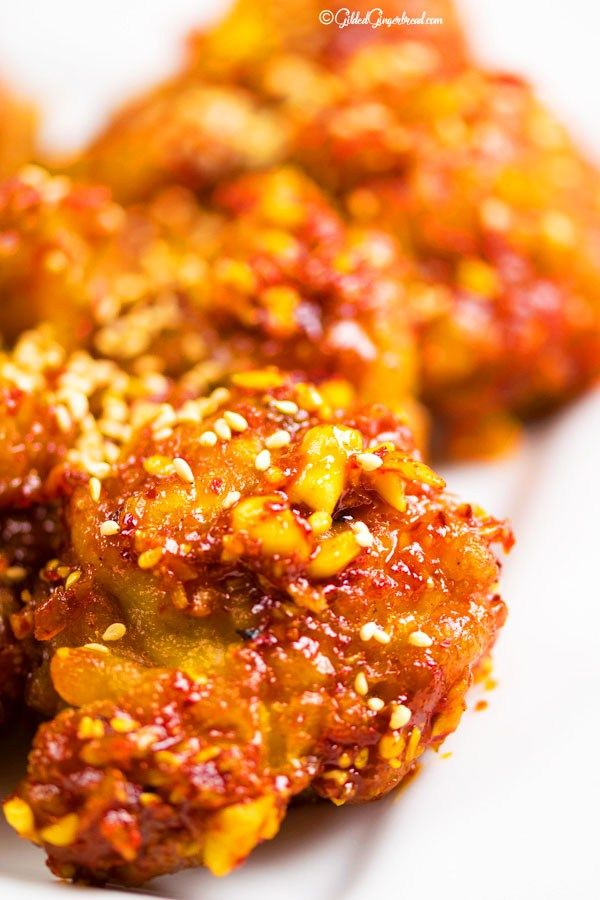 Yangnyeom fried chicken recipe quick dinner recipes gingerbread international recipes forumfinder Images