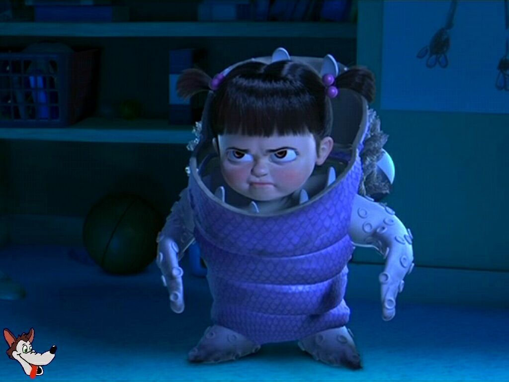 Love Her Angry Face Monsters Inc Boo Disney Monsters Monsters Inc