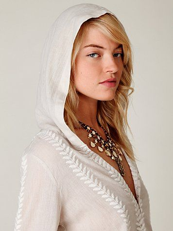 Embroidered Flora Pullover - $128.00