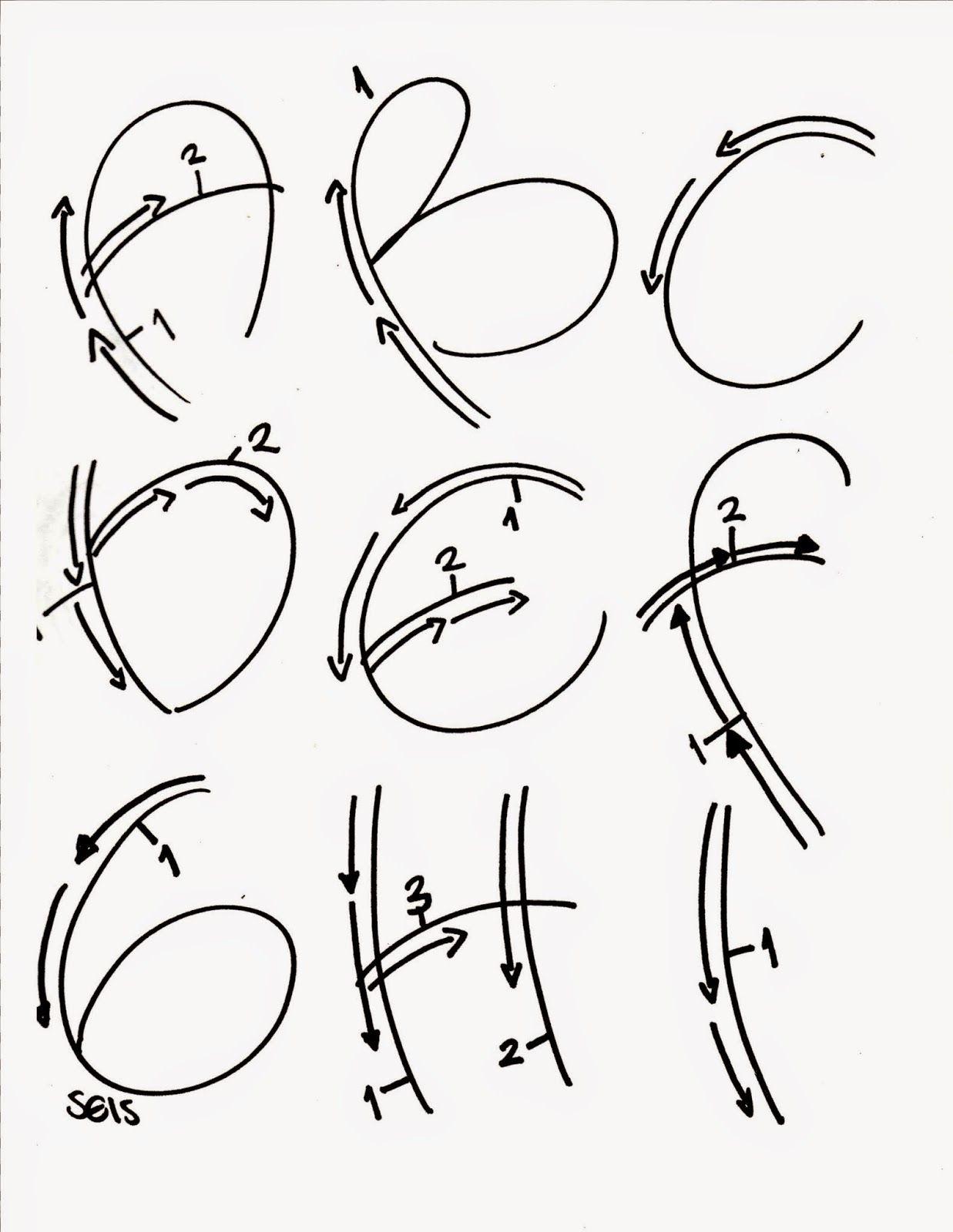Tipos de letras bonitas para carteleras tipos de letras - Letras para adornar ...
