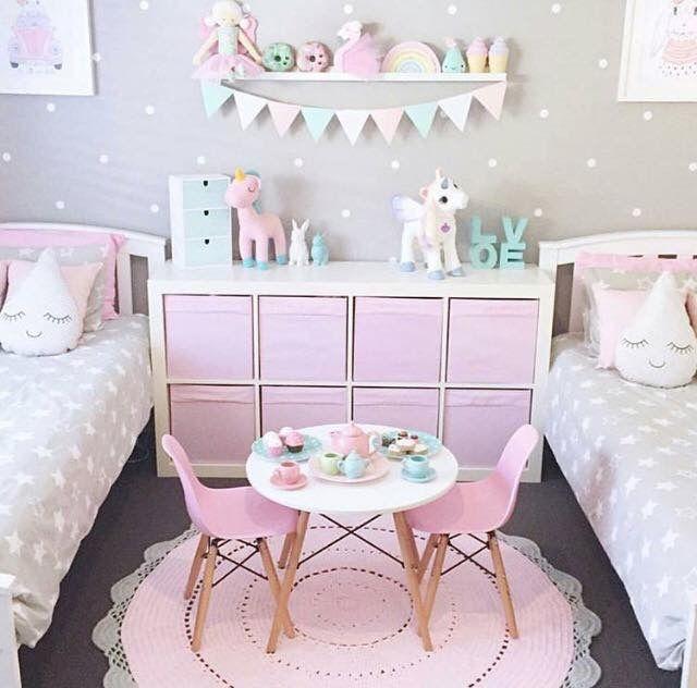 Pin de Siobhan en Twins room idea | Pinterest | Cuarto niña ...