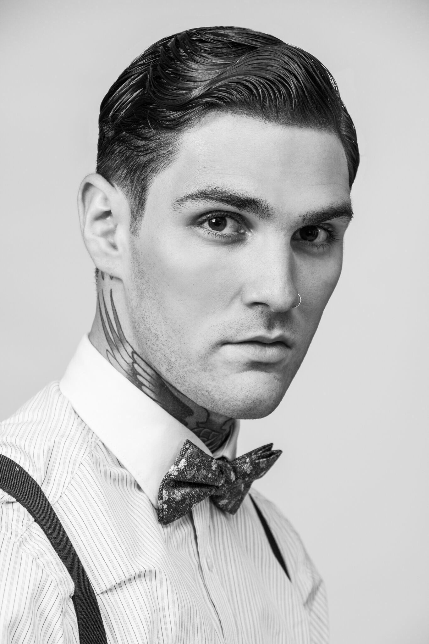 16 Divine Pony Tail Hairstyles Ideas Finger Waves 1920s Mens Hair Mens Hairstyles