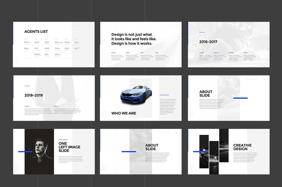 SUPRIMO PowerPoint Template by DimaIsakov on @creativemarket ...