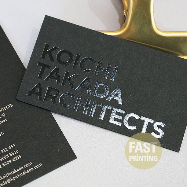 Luxury black on black business cards black foil on 350gsm 16pt luxury black on black business cards black foil on 350gsm 16pt extra black stock blackfoil fastprinting fp colourmoves