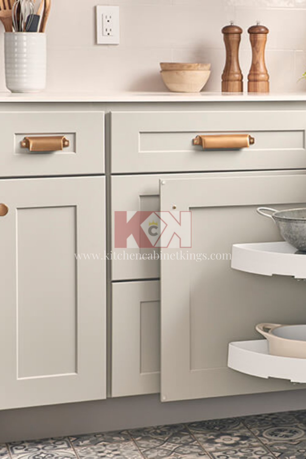 Bowery Pewter Kitchen Cabinets In 2020
