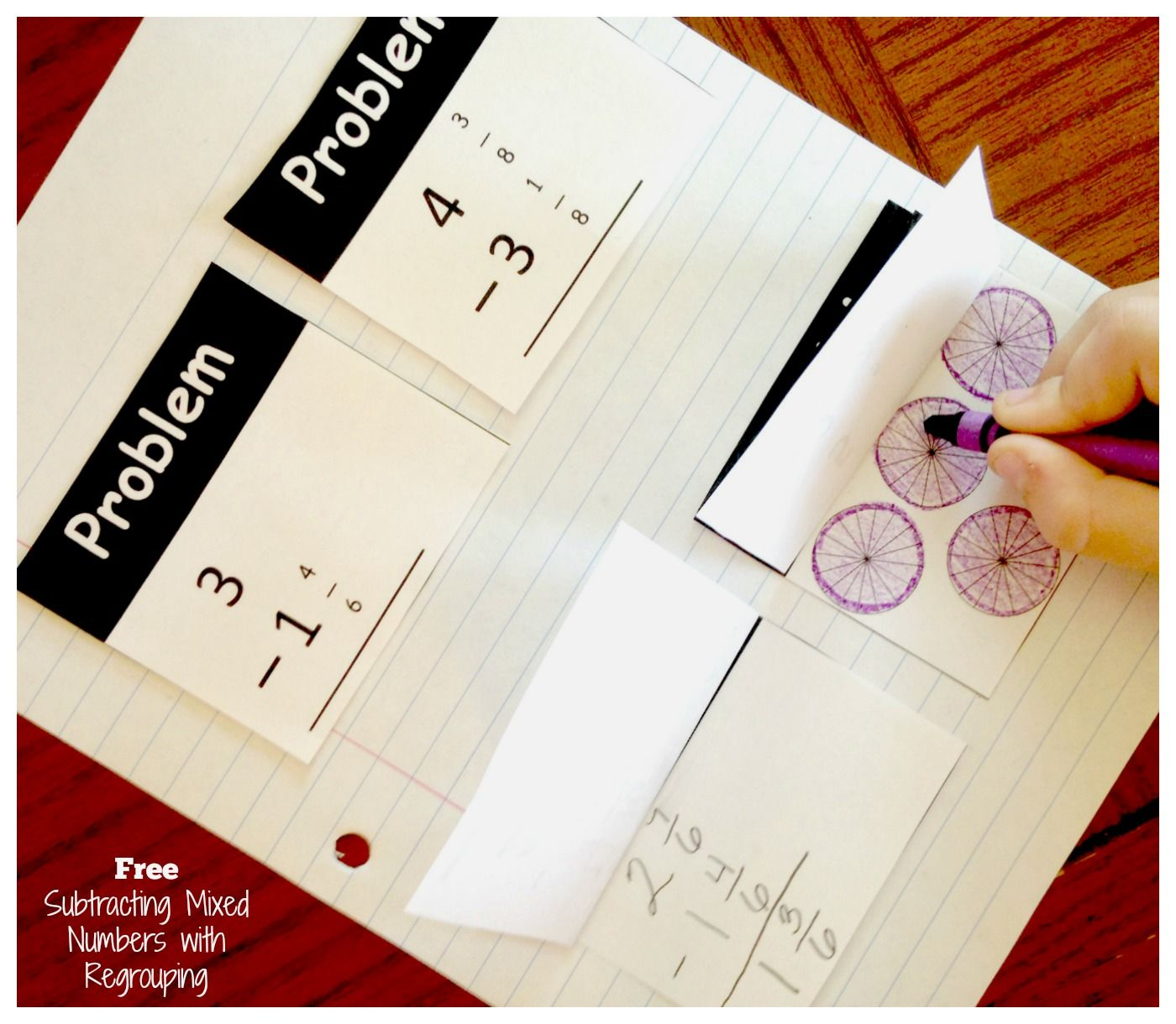 How To Teach Subtracting Mixed Numbers With Regrouping
