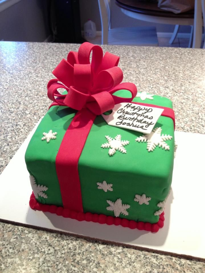 Fantastic Christmas Birthday Cakes With Images Christmas Birthday Cake Funny Birthday Cards Online Necthendildamsfinfo