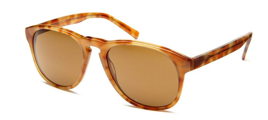 82e2d51ae27 Warby Parker Griffin in Blonde Tortoise. Polarized Rx lenses