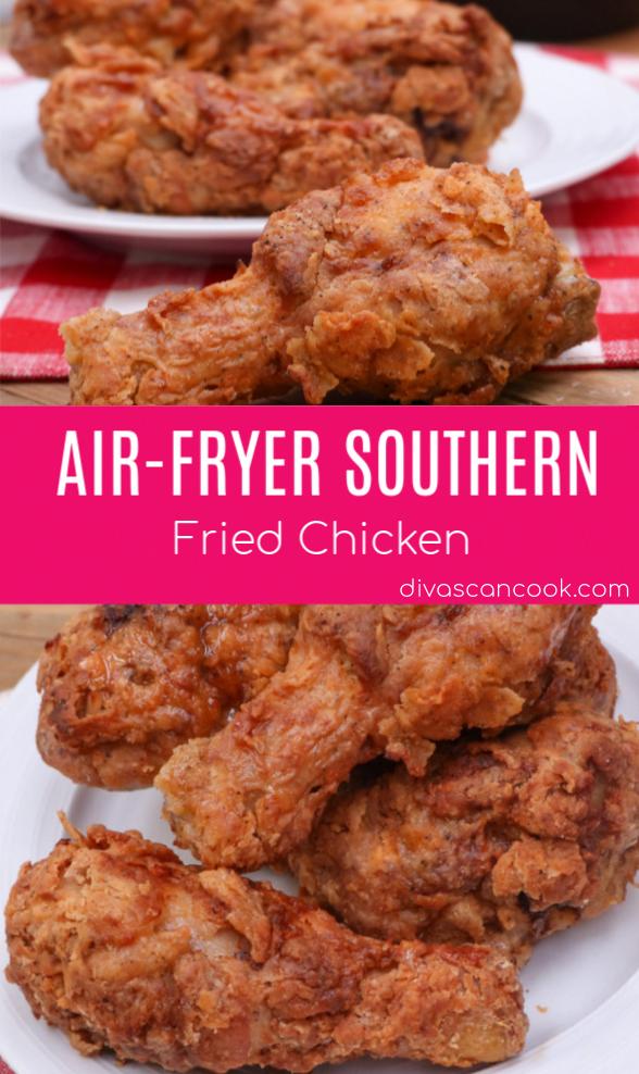 Air Fryer Southern Fried Chicken Recipe Air Fryer Dinner