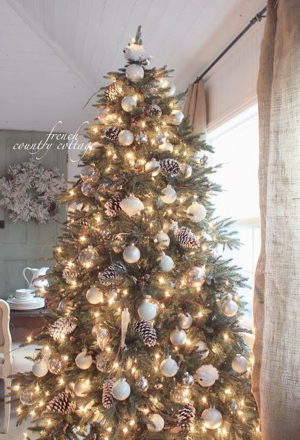 french christmas tree | FRENCH COUNTRY COTTAGE: O Christmas tree