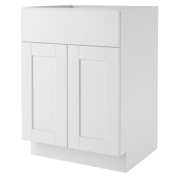 Website Photo Gallery Examples Altra White inch Shaker Style Bath Vanity Cabinet