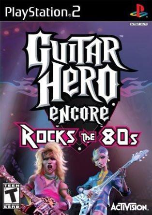 Guitar Hero Encore Rocks The 80 S Playstation 2 Tartarugas