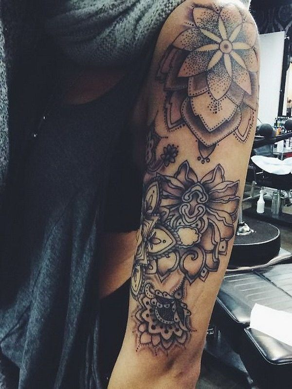 Half Sleeve Tattoos For Girls On Arm