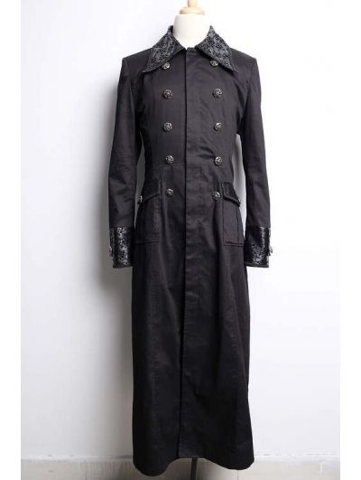 Long Black Coats For Men