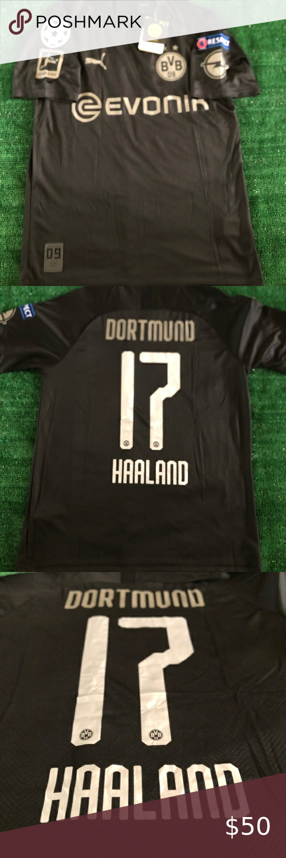 Borussia Dortmund Haaland 110th Anniversary Jersey Brand New With Tags Borussia Dortmund 110th Anniversary Haaland 1 In 2020 Clothes Design Puma Shirts Fashion Tips