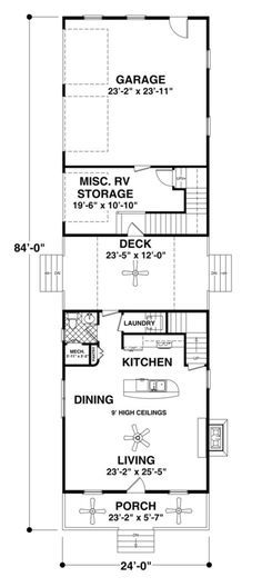 Cottage House Plan 036