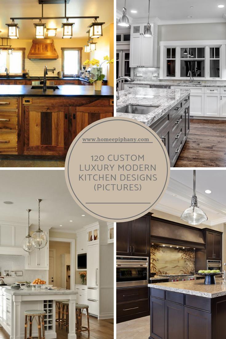 120 Custom Luxury Modern Kitchen Designs Kitchen Design Modern