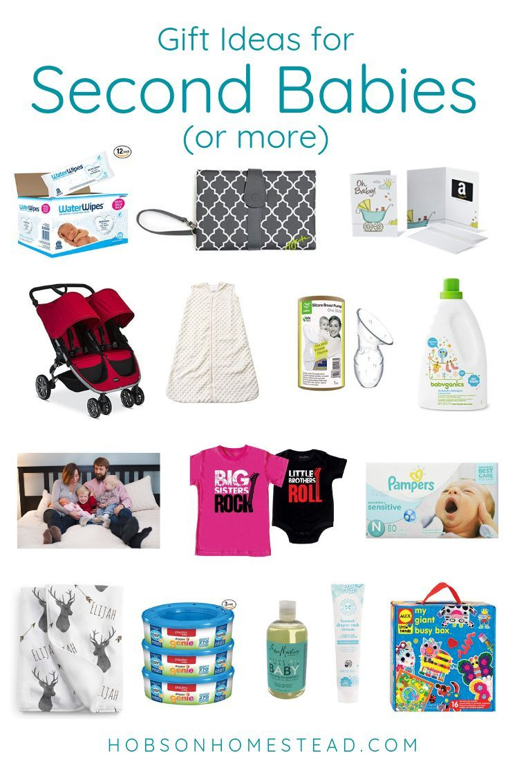 Gift Ideas For Second Babies (or More)