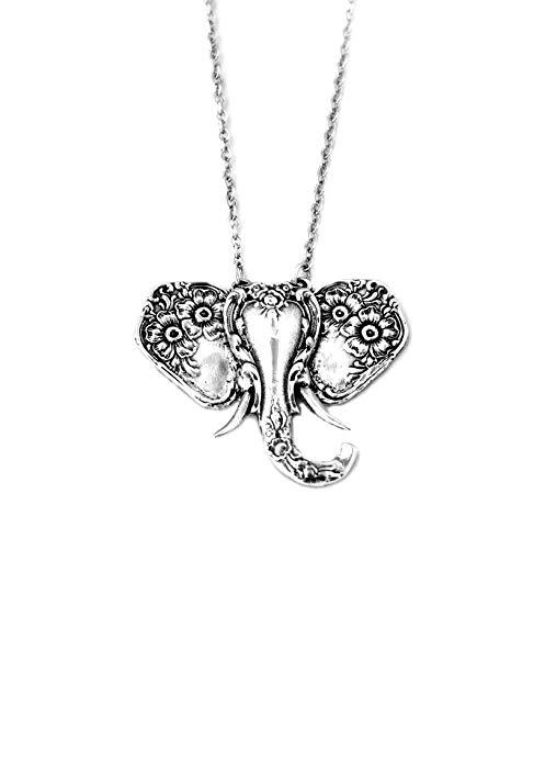 33+ Silver spoon jewelry elephant necklace info