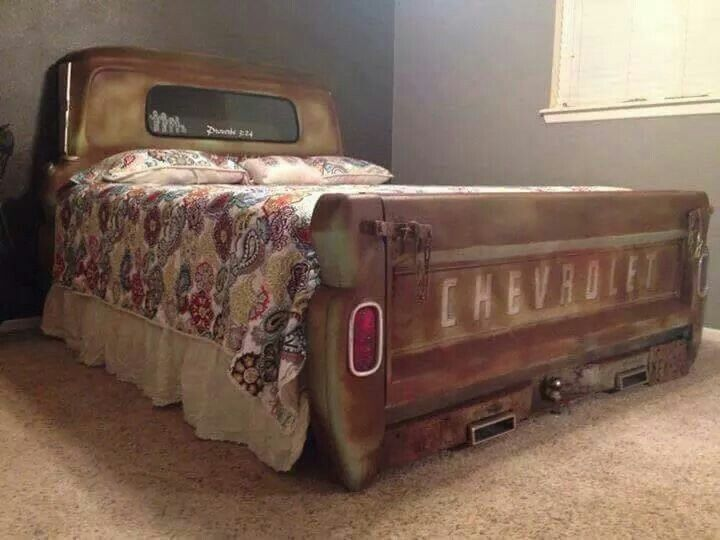 Chevy truck Bed .. AWSOME … | Car part furniture | Autom…