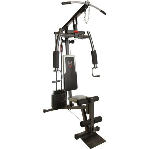The cap barbell strength lb stack home gym features