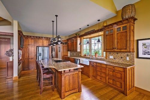 High Quality 26 Craftsman Kitchens That Will Have You Loving Natural Wood