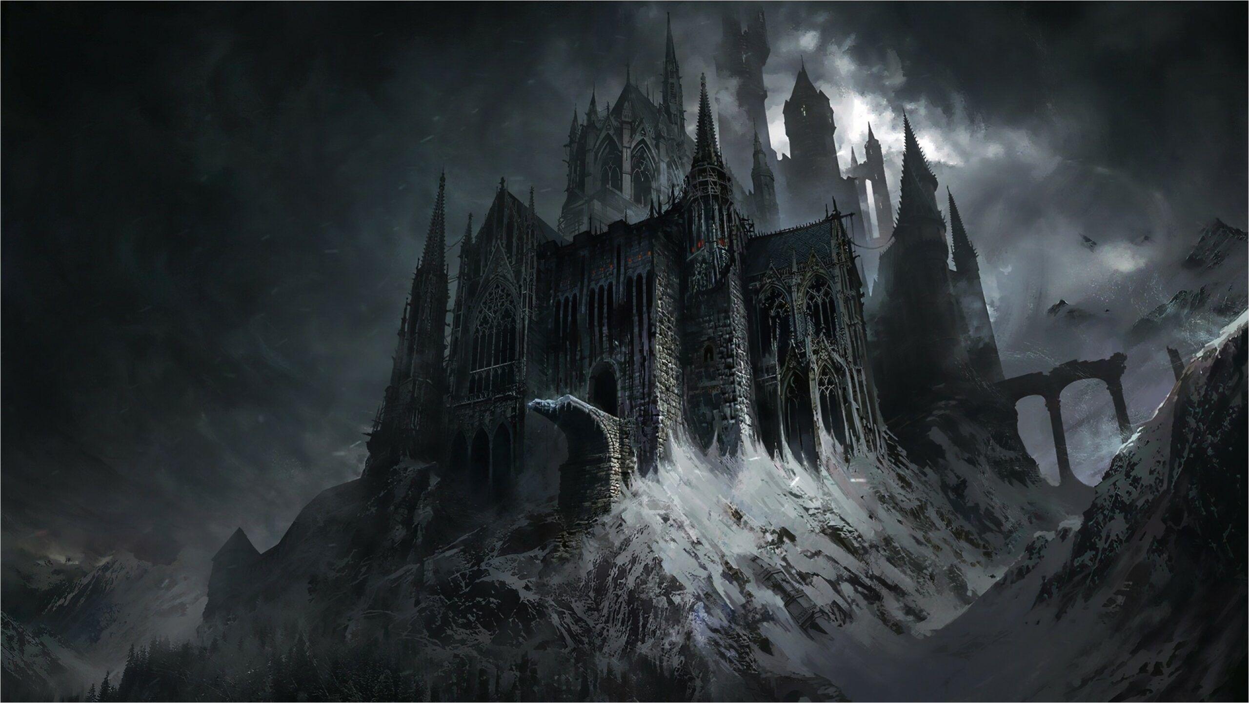 4k Fantasy Castle Wallpapers Fantasy Castle Dark Fantasy Fantasy Landscape