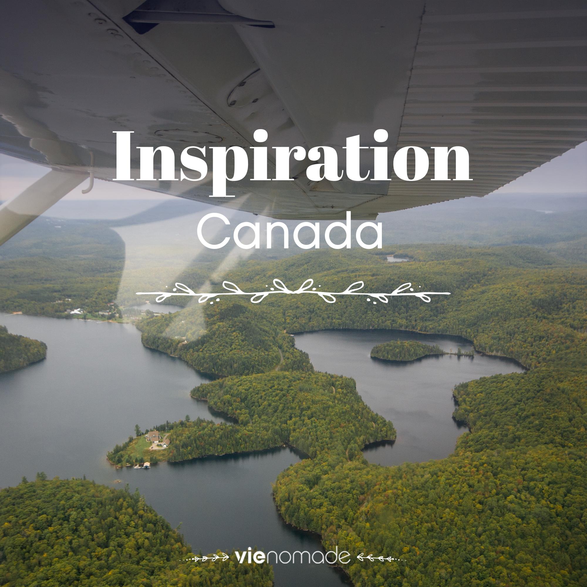 Collection d'idées et d'inspiration pour voyager au Canada.