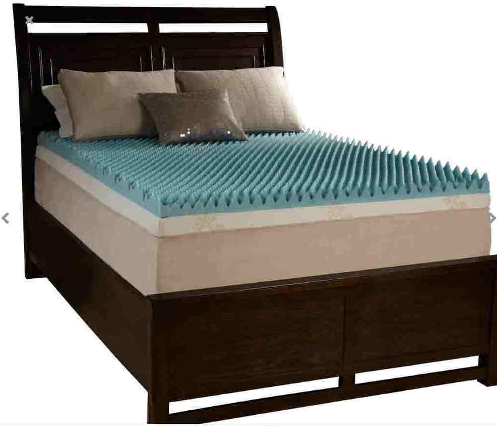 Firm mattress topper memory foam queen bedroom gel bed