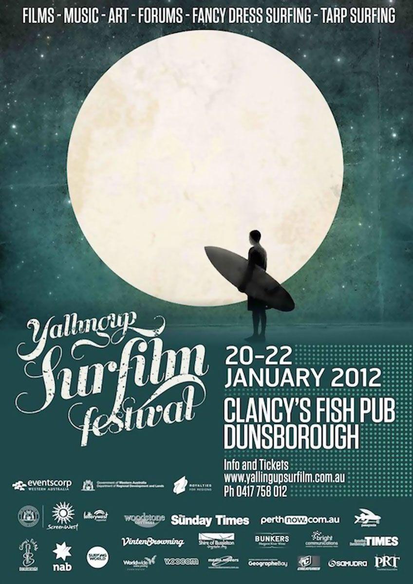 Film Fest Posters YallingupSurfFF 2012