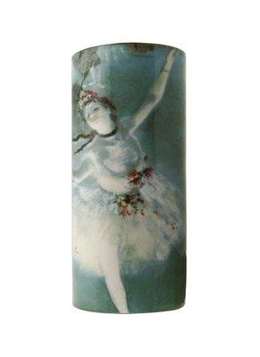Amandier en fleurs vase par van gogh-silhouette d/'art par john beswick