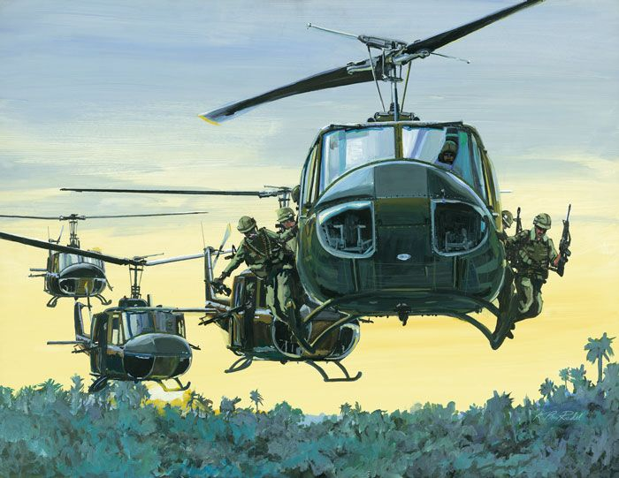 Image result for uh-1 huey vietnam