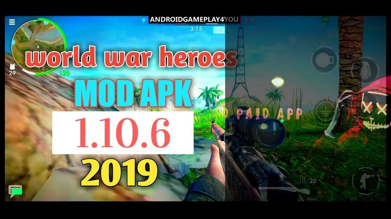 World War Heroes MOD APK v 1 10 6|Premium VIP | mod apk v