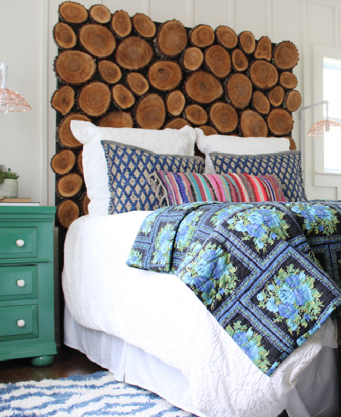 Diy Rustic Bedroom Set Plans Soon: 30 Creative Headboards That Make A Major Statement