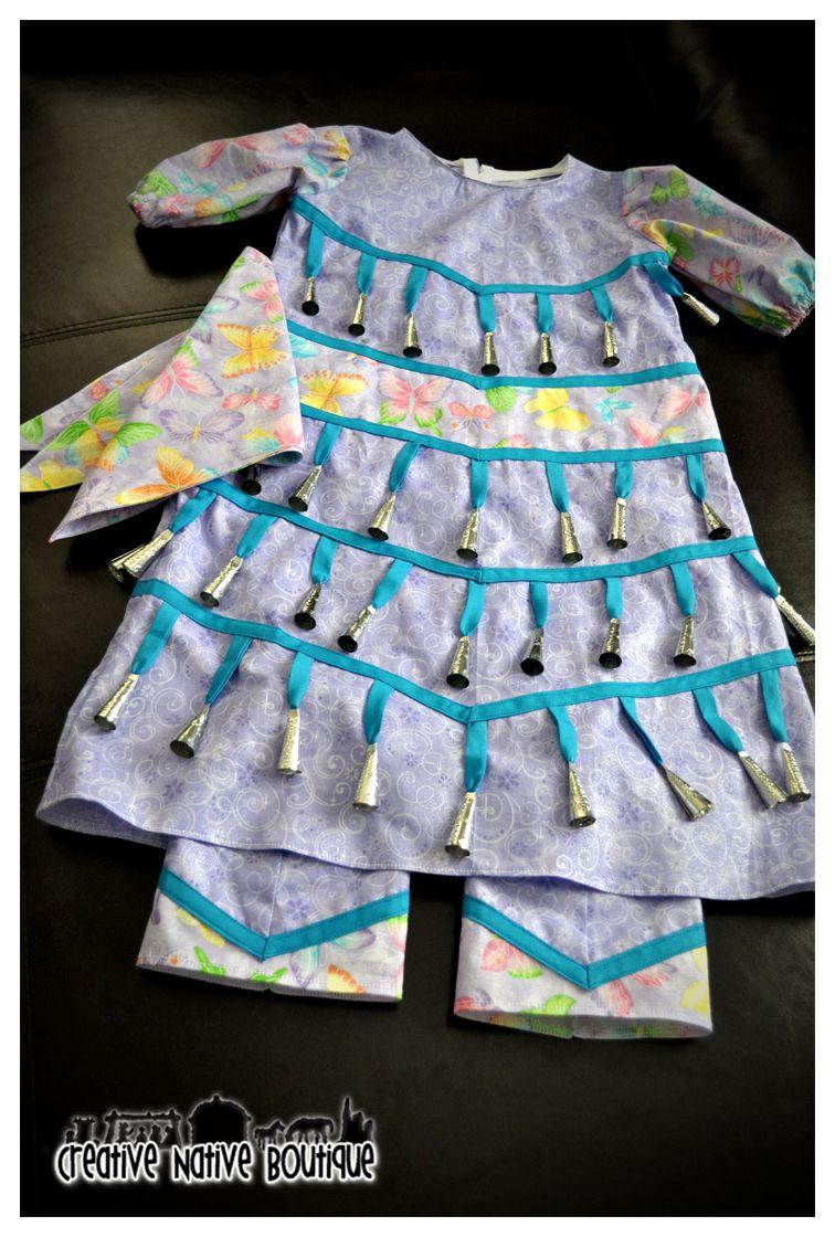 Creative Native Boutique: Little Girl\'s Jingle Dress   jingle dress ...