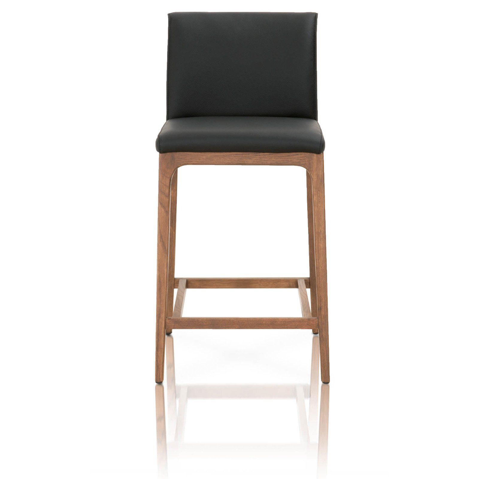 Star International Furniture Alex 26 In Counter Stool Leather
