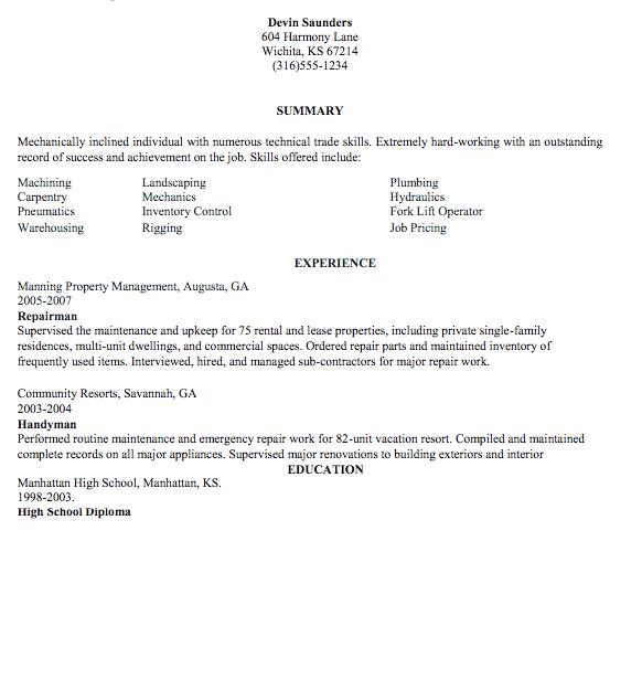 Pin By Latifah On Example Resume Cv Pinterest Resume Sample