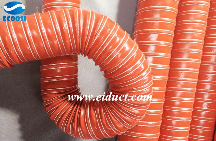 Flexible Duct Cold /& Hot Air 60mm Silicone 2 Ply Blue Air Ducting