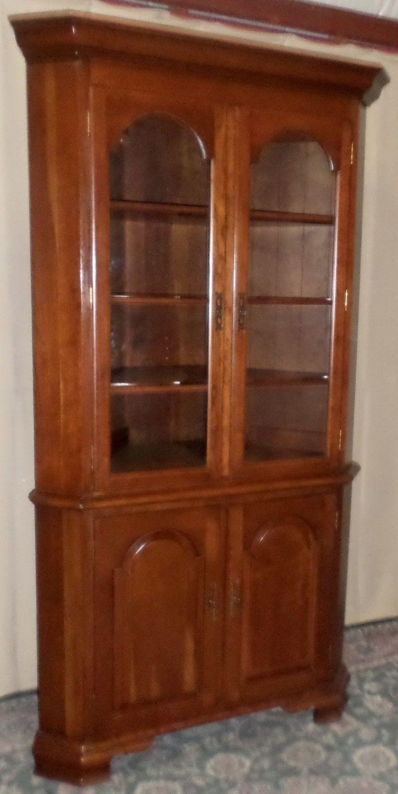 Vintage Ethan Allen Corner Cabinet