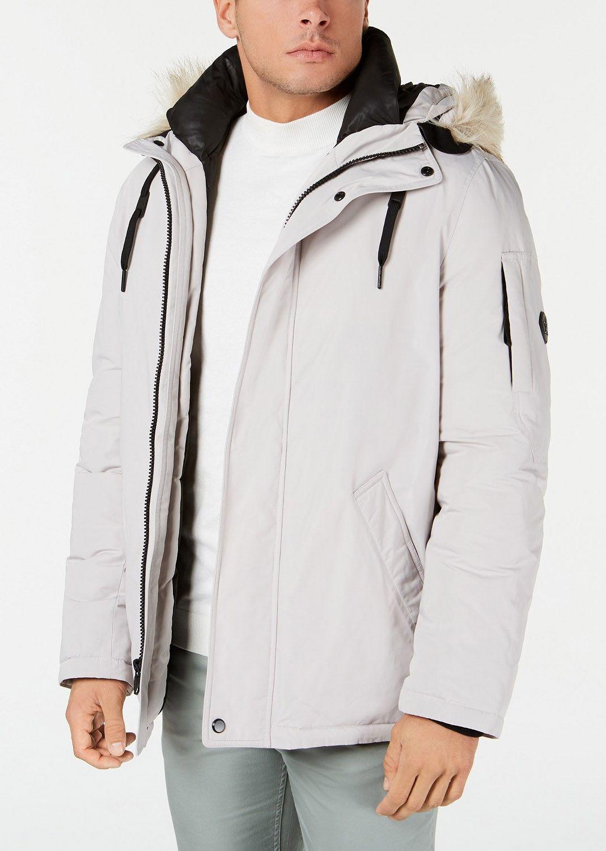 Calvin Klein Men S Snorkel Jacket With Faux Fur Trim Reviews Coats Jackets Men Macy S Calvin Klein Men Mens Big And Tall Mens Jackets [ 1500 x 1069 Pixel ]