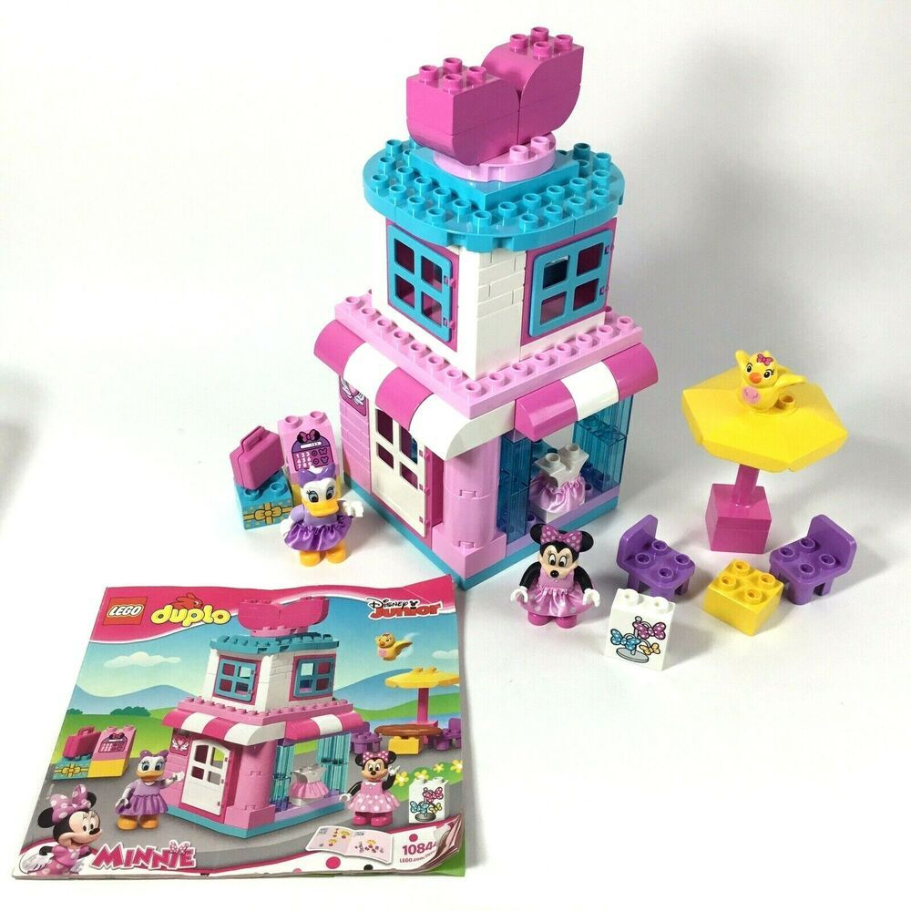Lego Duplo Minnie Mouse Bow Tique 10844 Near Complete Lego Ebay