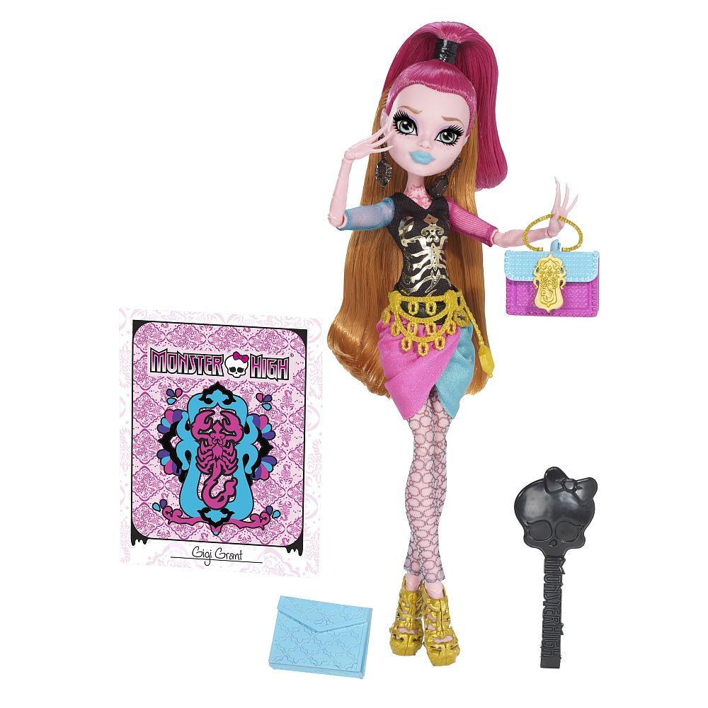 Monster High New Scare Mester Puppe Gigi Mattel Toysrus