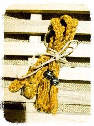 衿まわりの広い服や、夏の服装に大活躍間違いなし!!!仕様 かぎ針編み素材 綿麻混合毛糸【使い方】ブラのストラップを前後外していただいて、前がわの元々ストラップ...|ハンドメイド、手作り、手仕事品の通販・販売・購入ならCreema。