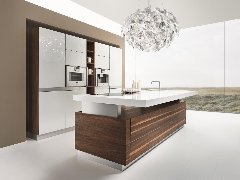 Kücheninsel K7 Holz: Nussbaum natur geölt | Naturholzküchen Team7 ...