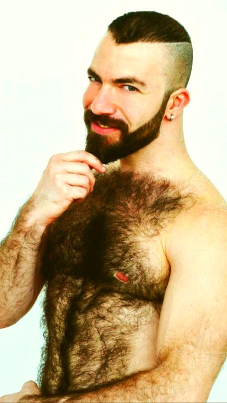 Chest chest chest hairy hairy hairy