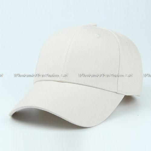 Wholesal 10pcs lot Brand Blank Cotton Baseball Hat NEW Womens White Base Ball  Caps Men Adjustable Plain Ball Cap Buy Bulk Hats 0bd1264906