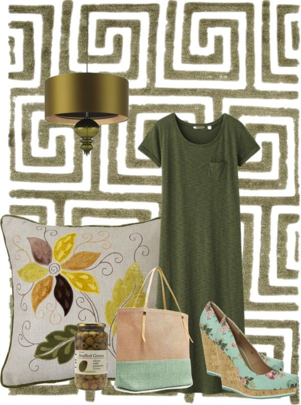 """Olive"" by minnieleehaven ❤ liked on Polyvore"
