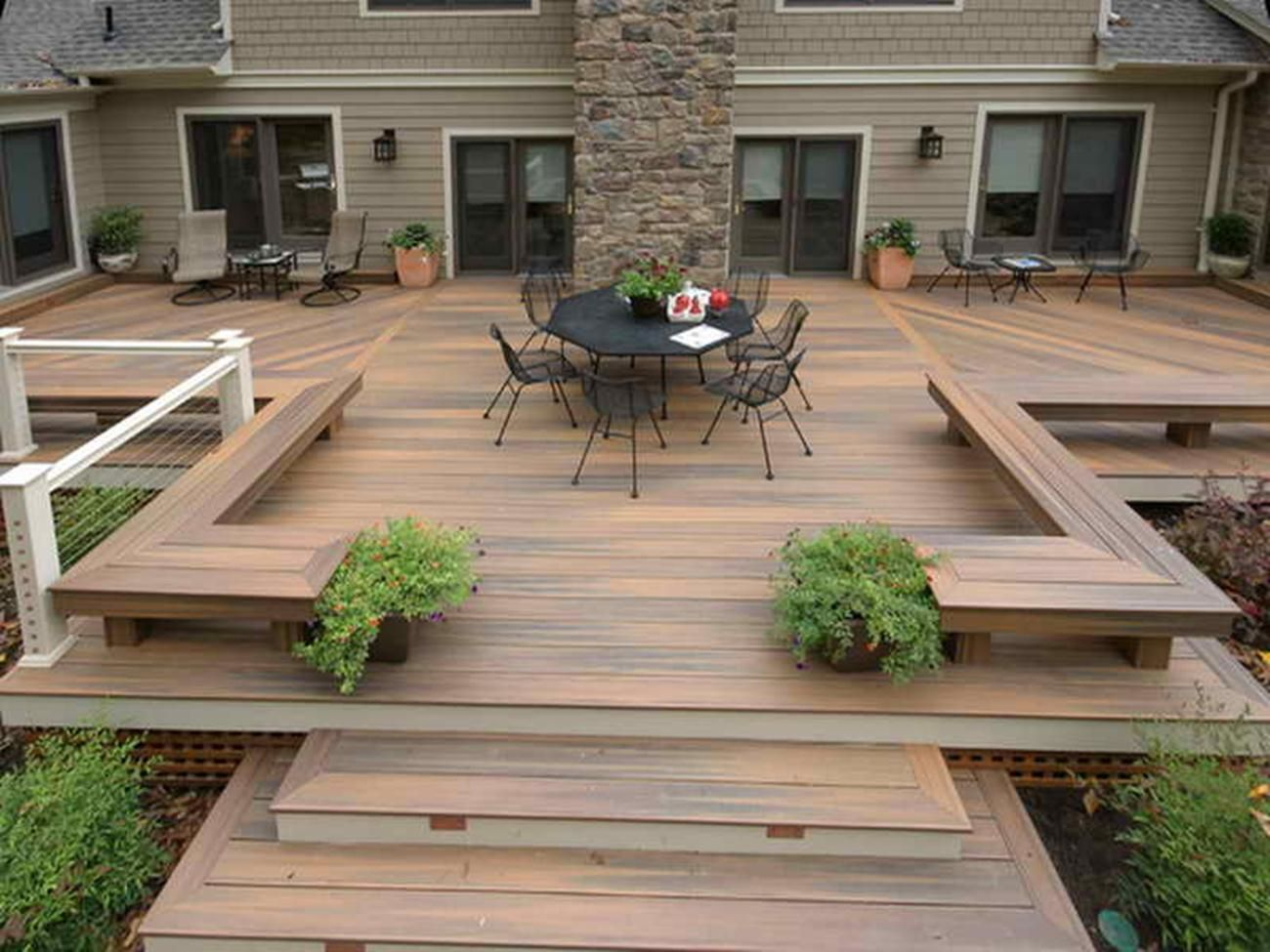 Best Architecture Steps For Deck Ideas With Cedar Very Good 640 x 480
