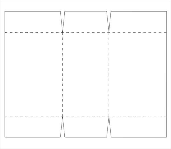 Rectangle Box Template Printable Box Templates Printable Free